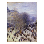 DES Capucines, Monet, bella arte del bulevar del v Posters