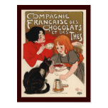 DES Chocolats de Compagnie Francaise Tarjetas Postales