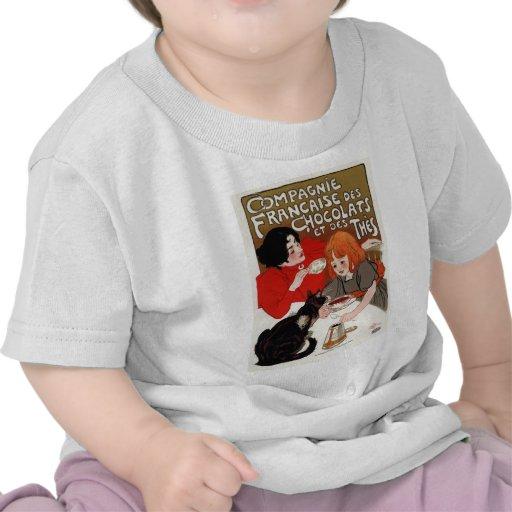 DES Chocolats, Steinlen de Compagnie Francaise Camisetas