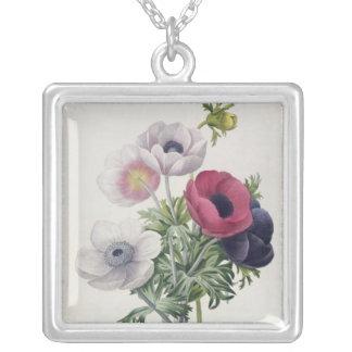 'DES de Les Choix más las bellezas Fleurs Collar Plateado