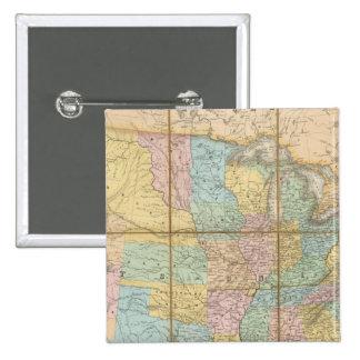 DES Etats de Generale de la carta Pin Cuadrada 5 Cm