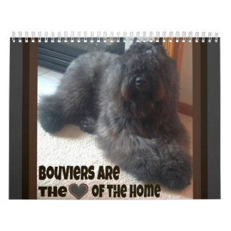DES Flandres de Bouvier Calendarios De Pared