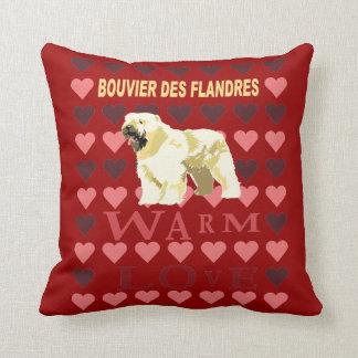 DES Flandres de Bouvier Cojín Decorativo