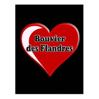 DES Flandres de Bouvier en el corazón para los Postal