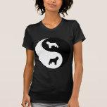 DES Flandres Yin Yang de Bouvier Camisetas