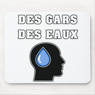 OF THE GUY OF WATER - WORD GAMES - FRANÇOIS CITY MOUSE PAD