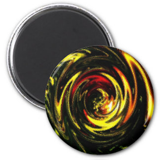 DES hermoso de los colores de Digitaces de la falt Imán Redondo 5 Cm