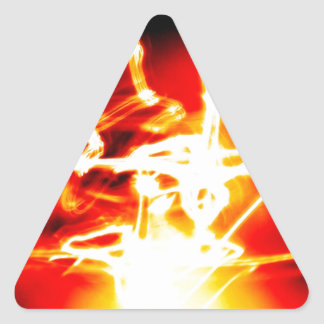 DES hermoso de los colores de Digitaces de la falt Pegatinas Triangulo Personalizadas