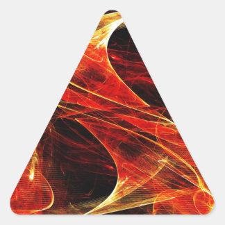 DES hermoso de los colores de Digitaces de la falt Pegatinas De Trianguladas