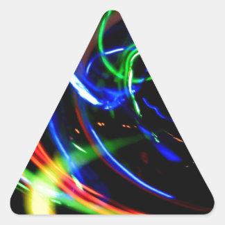 DES hermoso de los colores de Digitaces de la falt Colcomanias Trianguladas