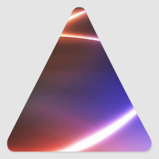 DES hermoso de los colores de Digitaces de la falt Calcomanía Trianguloada