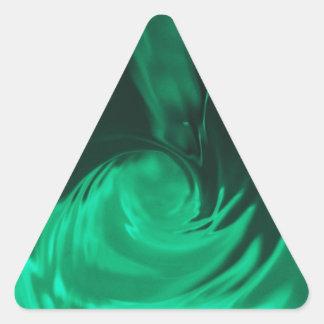 DES hermoso de los colores de Digitaces de la falt Calcomanía Triangulo