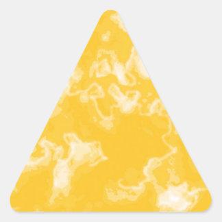 DES hermoso de los colores de Digitaces de la falt Pegatinas Triangulo