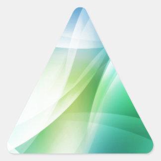DES hermoso de los colores de Digitaces de la falt Colcomanias Triangulo Personalizadas