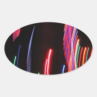 DES hermoso de los colores de Digitaces de la falt Colcomanias Ovaladas