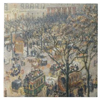 DES Italiens, mañana, luz del sol, 1897 del buleva Azulejo Ceramica