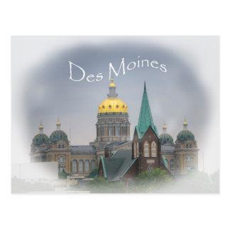Des Moines Capitol Postcard