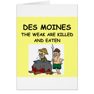 DES MOINES GREETING CARDS
