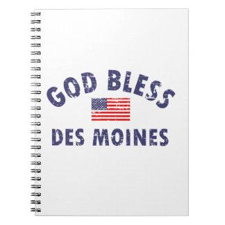 DES MOINES city DESIGNS Note Book