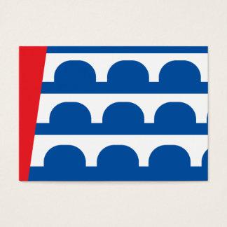 Des Moines city flag Business Card