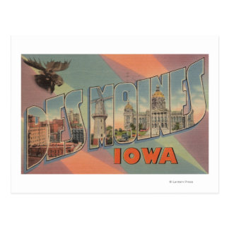 Des Moines, Iowa (cabeza de los alces) Tarjetas Postales