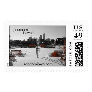 Des Moines Iowa Color Splash Stamps