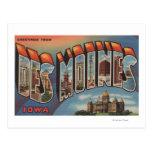 Des Moines, Iowa (edificio capital) Tarjetas Postales