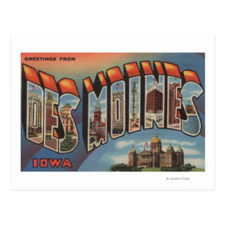 Des Moines Iowa edificio capital Tarjetas Postales