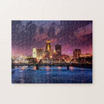 Des Moines Iowa. Jigsaw Puzzle