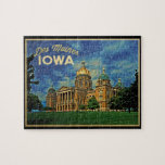 Des Moines Iowa Puzzle