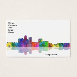 DES MOINES, IOWA SKYLINE - Business Cards