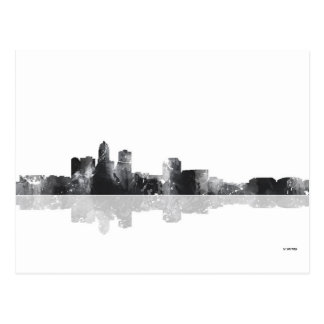 DES MOINES, IOWA SKYLINE POSTCARD