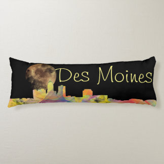 DES MOINES, IOWA SKYLINEWB1  - BODY PILLOW