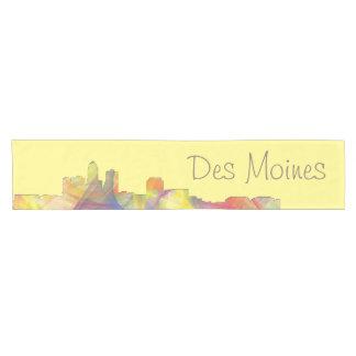 DES MOINES, IOWA SKYLINEWB1  - SHORT TABLE RUNNER