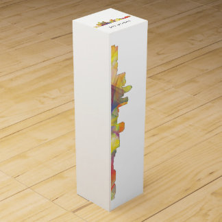 DES MOINES, IOWA SKYLINEWB1  - WINE GIFT BOX