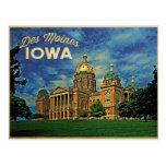 Des Moines Iowa Tarjetas Postales