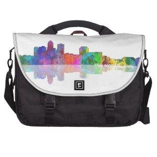 DES MOINES SKYLINE - Commuter Bag