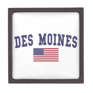 Des Moines US Flag Gift Box