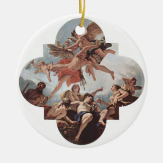 DES Palazzo Marucelli - Fenzi de Dekoration Adorno Navideño Redondo De Cerámica