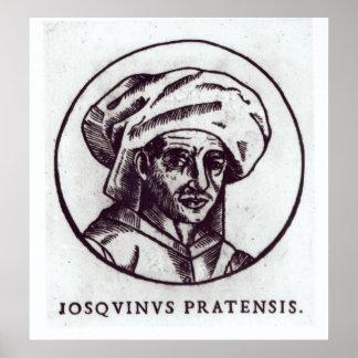 DES Pres de Josquin Póster