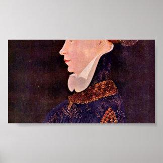 DES Prez - retrato de Josquin de una señora Impresiones