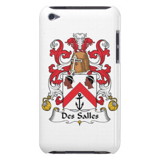 Des Salles Family Crest Barely There iPod Cases