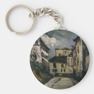 DES Saules de la ruda. Montmartre de Paul Cezanne Llavero Redondo Tipo Pin