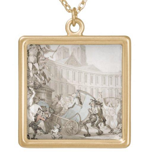 DES Victoires, París, c.1789 del lugar del La (plu Joyerias Personalizadas