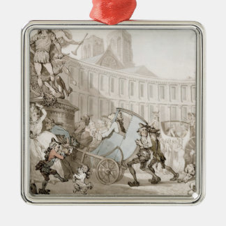 DES Victoires París c 1789 del lugar del La plu Ornamento Para Arbol De Navidad