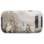 DES Victoires, París, c.1789 del lugar del La (plu Galaxy S3 Protector