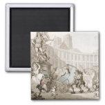 DES Victoires, París, c.1789 del lugar del La (plu Imanes