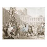 DES Victoires, París, c.1789 del lugar del La Postal