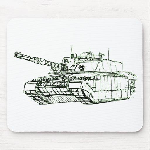 Desafiador 2 MBT Alfombrilla De Ratones