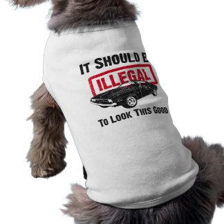 Desafiador de 1970 Dodge Camiseta De Perro